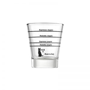 Δοσομετρικό ποτήρι espresso Metallurgica Motta