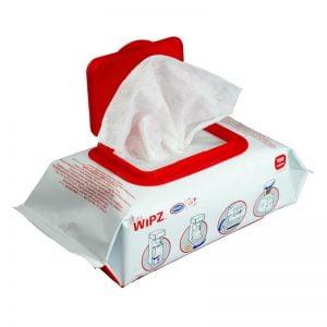 Cafe Wipz Urnex υγρά μαντηλάκια καθαρισμού εξοπλισμού καφέ