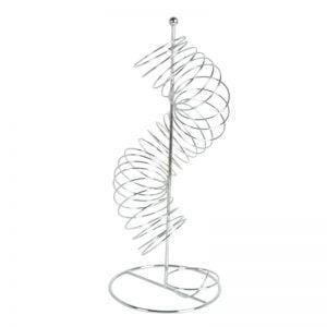 Ανοξείδωτη φρουτιέρα σε σχήμα spiral