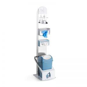 Υγειονομικός σταθμός - Ανοξείδωτη υγειονομική στήλη