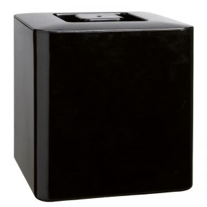 Μαύρος παγοδιατηρητής τετράγωνος ABS 10L