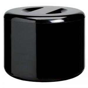 Μαύρος παγοδιατηρητής ABS 10L