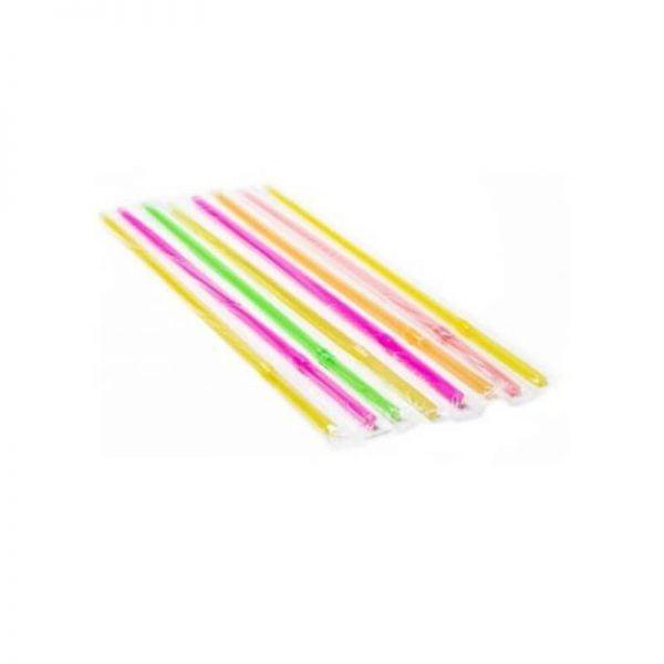 Καλαμάκια πολύχρωμα σπαστά - jumbo