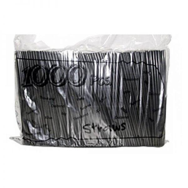 Καλαμάκια freddo 23cm σπαστό μαύρο